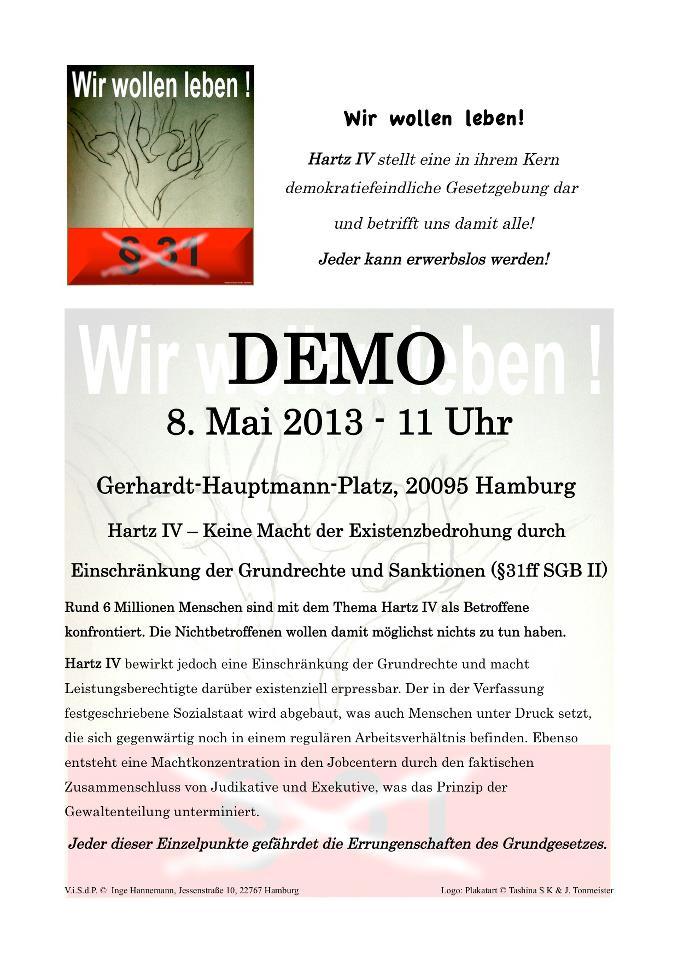 DEMO Hartz IV