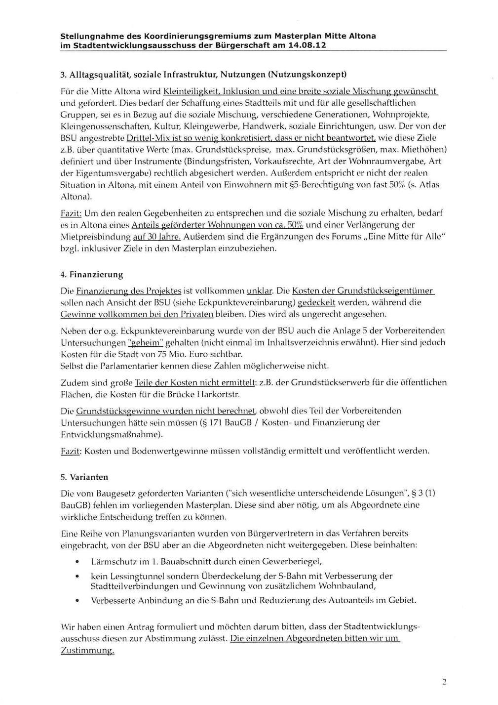 Stellungnahme KG Seite 2