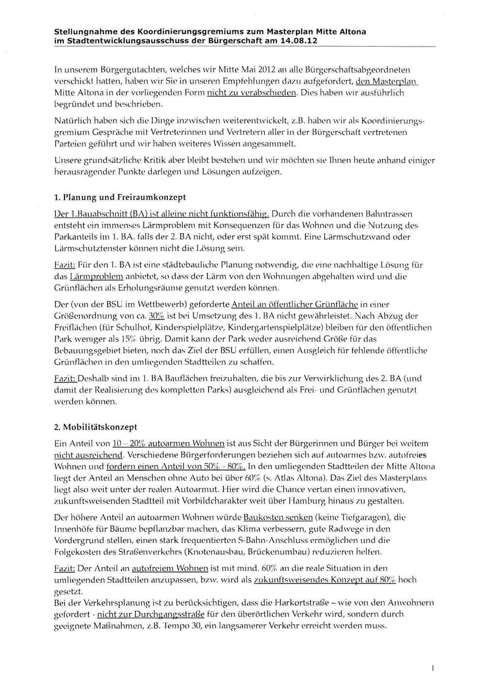 KG-Stellungnahme Seite 1