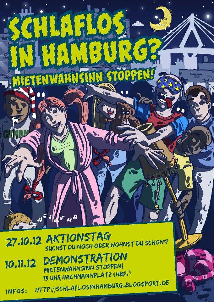 Schlaflos in Hamburg